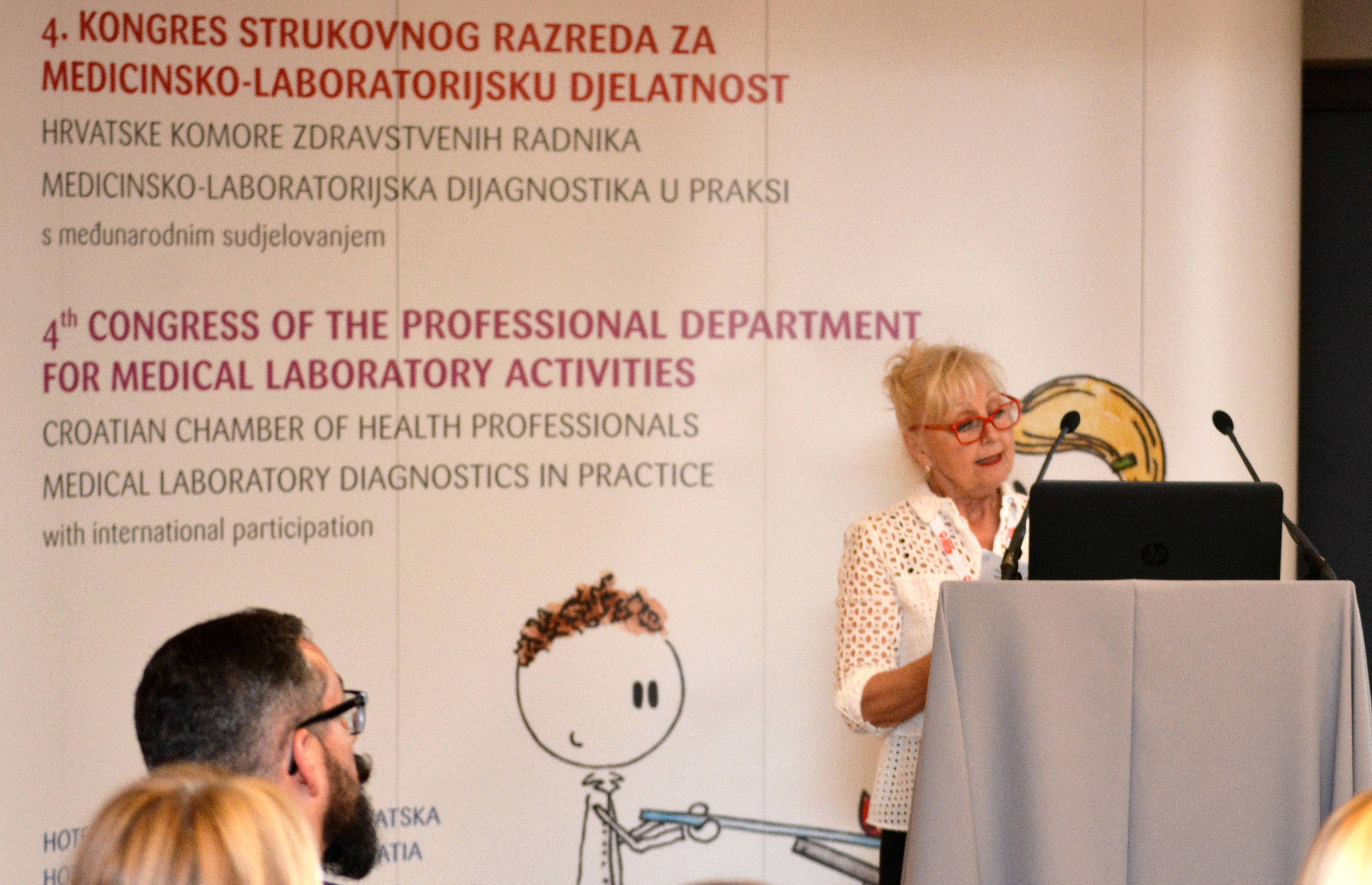 Svečano otvoren 4. kongres Hrvatske komore zdravstvenih radnika – strukovnog razreda za medicinsko-laboratorijsku djelatnost / 300 foto!