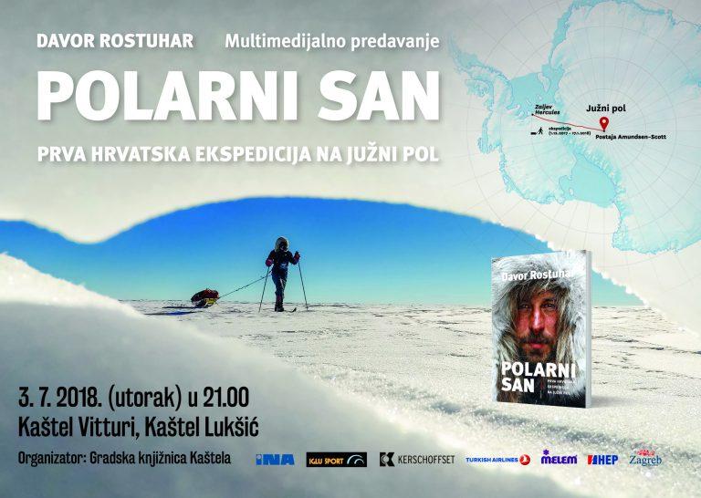 """Multimedijalno predavanje """"Polarni san"""" Davora Rostuhara"""
