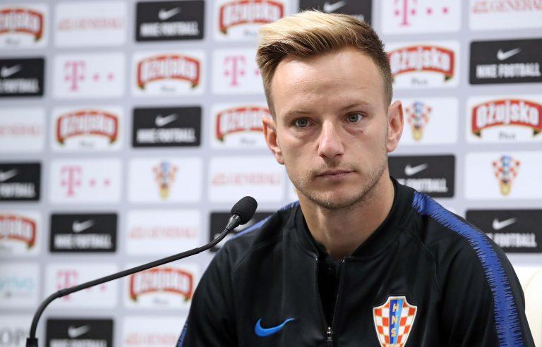 Tiskovna konferencija Hrvatske nogometne reprezentacije u kampu Roščino