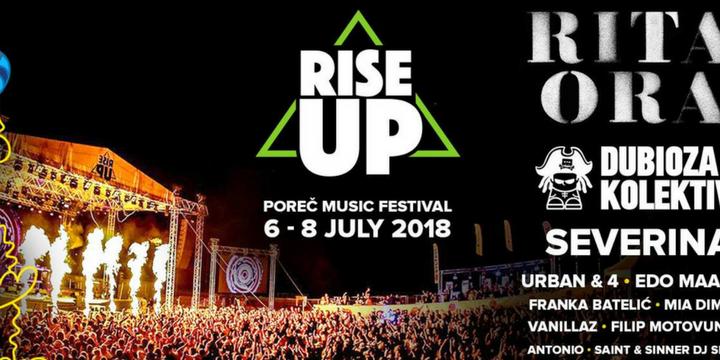 Rise Up Festival na porečkoj Peškeri od 6. do 8. srpnja