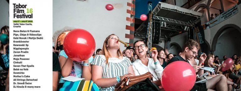 16. TABOR FILM FESTIVAL, Dvor Veliki Tabor, od 5. do 8. srpnja