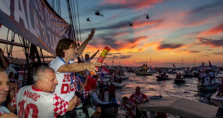 Luka Modrić: Lijepo je vratiti u Zadar i vidjeti prijatelje iz djetinjstva
