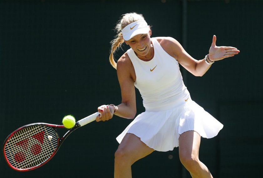 Donna Vekić prvi put ušla u treće kolo Wimbledona