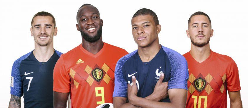 Tko će prvi do finala SP-a: Francuska i Belgija za krunu generacije