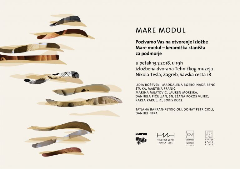 MARE MODUL – projekt kreiranja keramičkih staništa za podmorje / Najava