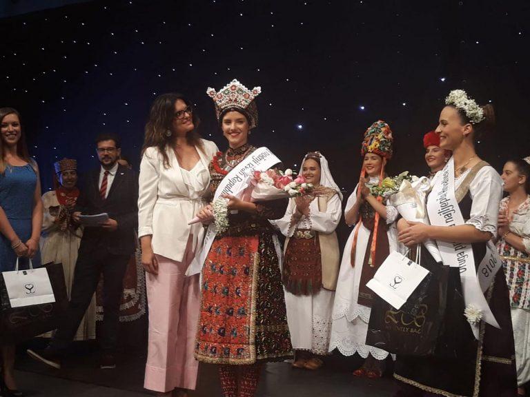 Martina Romić iz Vojvodine najljepša Hrvatica u narodnoj nošnji izvan RH