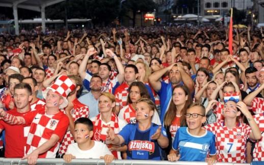 Rijeka slavi, Hrvatska je u finalu Svjetskog nogometnog prvenstva