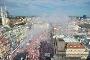 Zagreb, Split, … Vatreni su za nas prvaci svijeta!