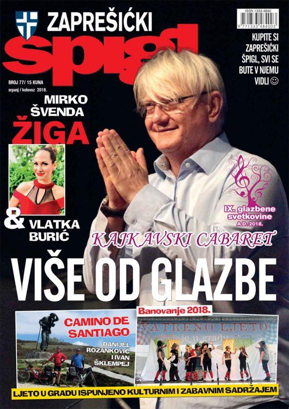 U prodaji najnoviji broj Zaprešićkog špigla, časopisa za urbanu kulturu, sport i gospodarstvo