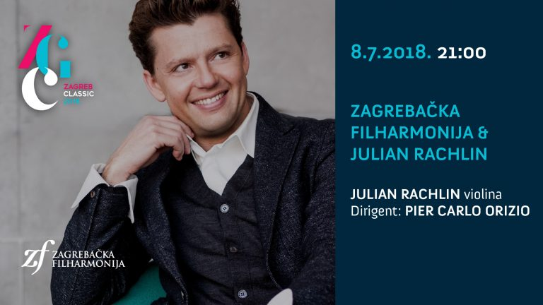 VELIKA GLAZBENA ZVIJEZDA JULIAN RACHLIN NA FESTIVALU ZAGREB CLASSIC