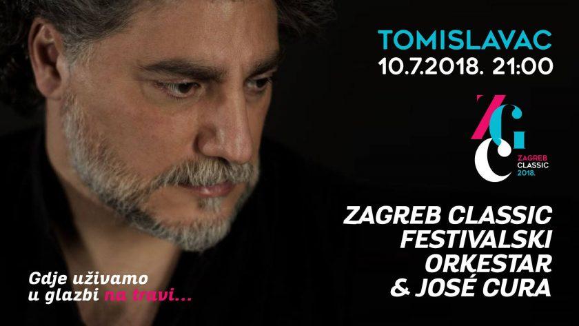 Slavni argentinski tenor José Cura u velikom finalu festivala Zagreb Classic
