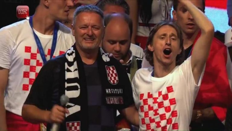 Kako je iznenada prekinuto slavlje Vatrenih na Trgu bana Jelačića