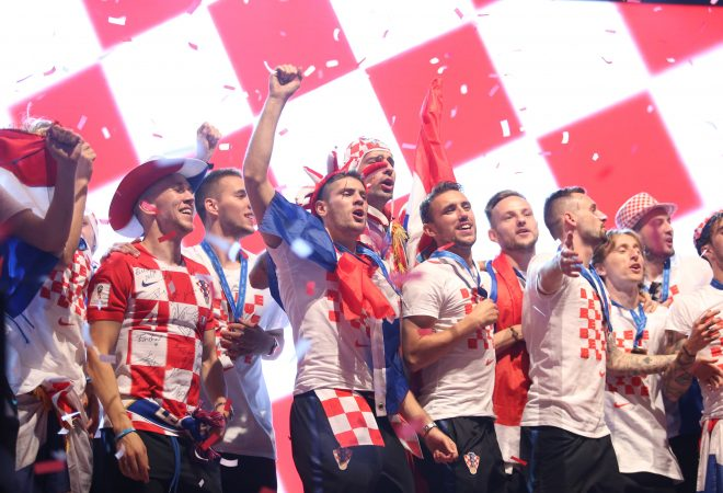 Pogledajte zbog čega je organizator prekinuo slavlje Vatrenih na dočeku u Zagrebu