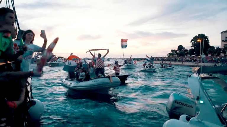 Zbog Vatrenih cijeli svijet zna za Zadar – pogledajte spektakularan video!
