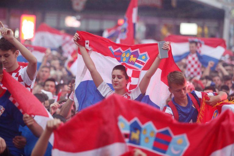 Nevjerojatna navijačka atmosfera u Zagrebu