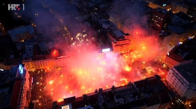 Čudo neviđeno na Trgu, Vatreni s 550.000 ljudi vratili dostojanstvo Hrvatskoj