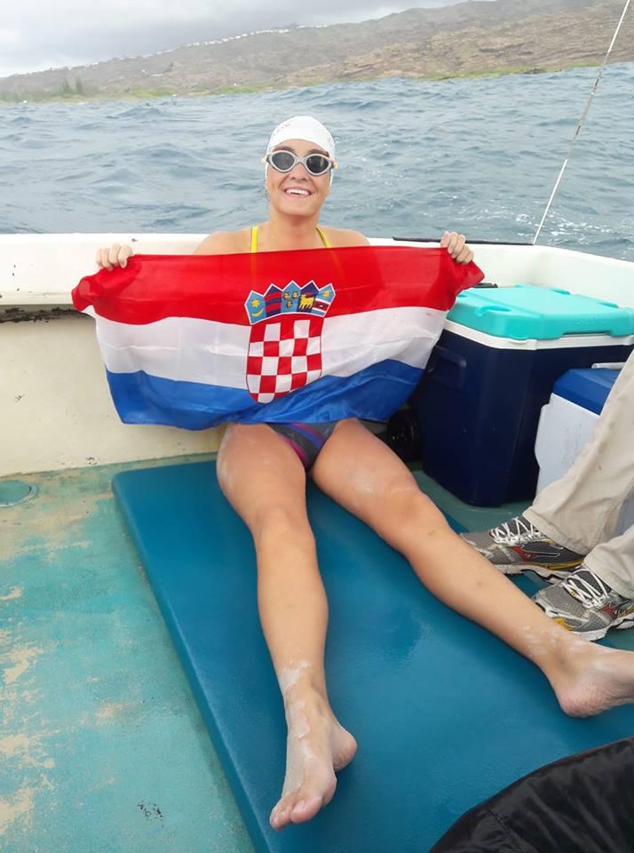 Dina Levačić preplivala Molokai kanal
