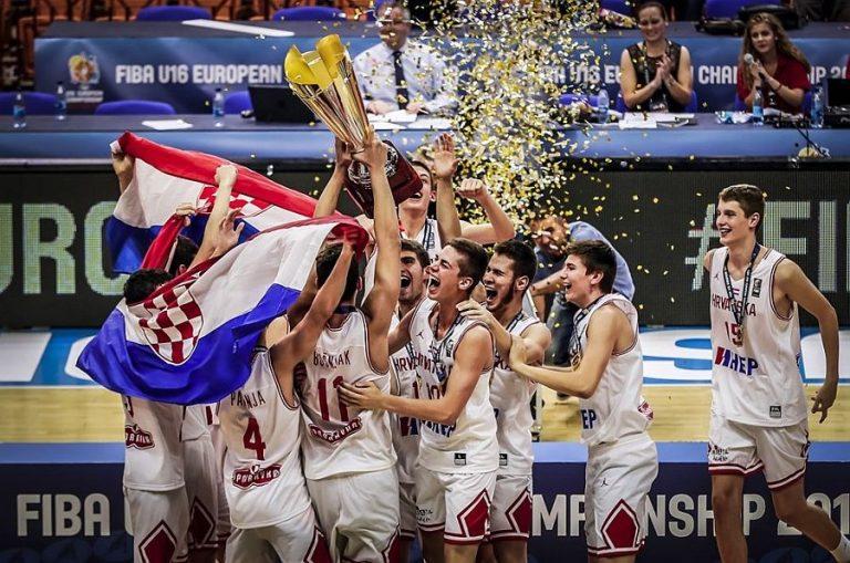 Hrvatska osvojila naslov europskih košarkaških kadetskih prvaka