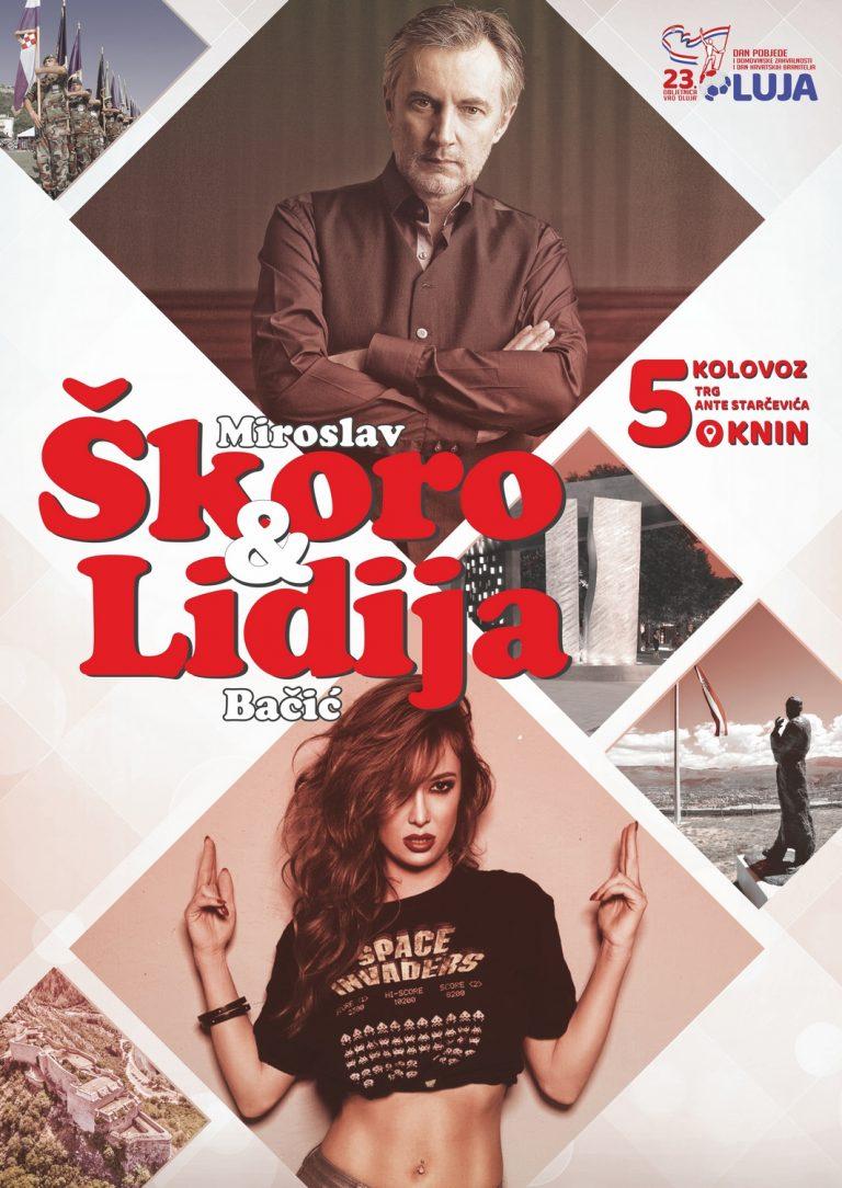 Koncert Miroslava Škore i Lidije Bačić u Kninu