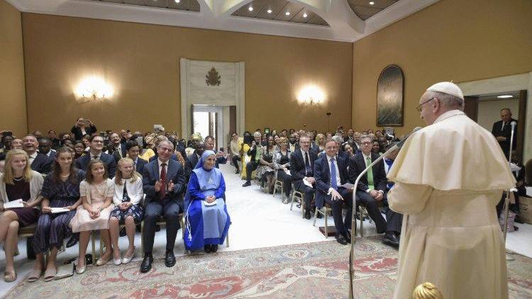Papa: Kršćanski političar pozvan je iznad svega nastojati ponizno i hrabro biti svjedok
