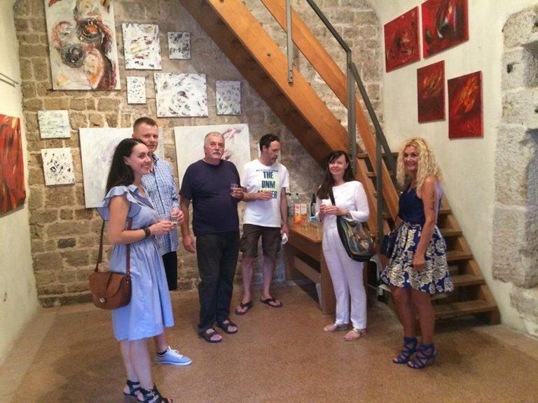 Otvorena izložba akademske slikarice Marije Galić u zadarskoj galeriji Kapetanova kula