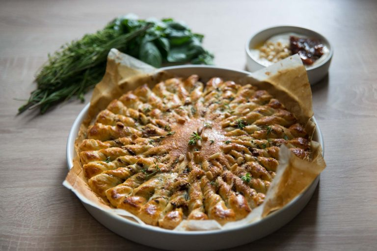 Recept – Mediteranska sunčana pita s Galbani Ricottom