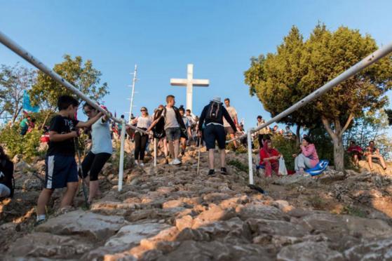 Misom zahvalnicom na Križevcu završen 29. molitveni susret mladih u Međugorju