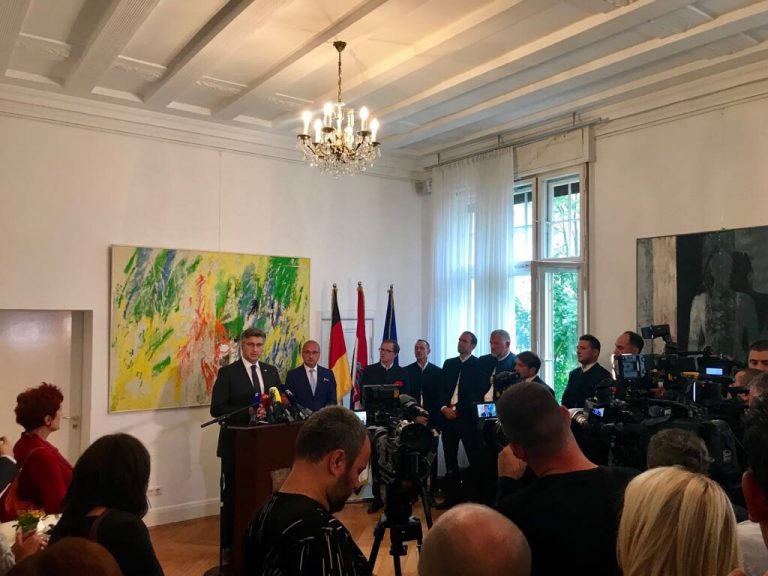 Predsjednik Vlade u Berlinu: Hrvati u Njemačkoj su poveznica između dviju prijateljskih zemalja