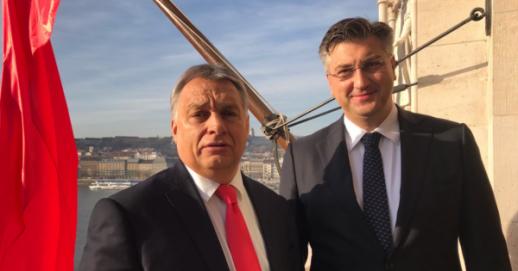 Mađarski premijer Orban susreo se u Opatiji s Plenkovićem