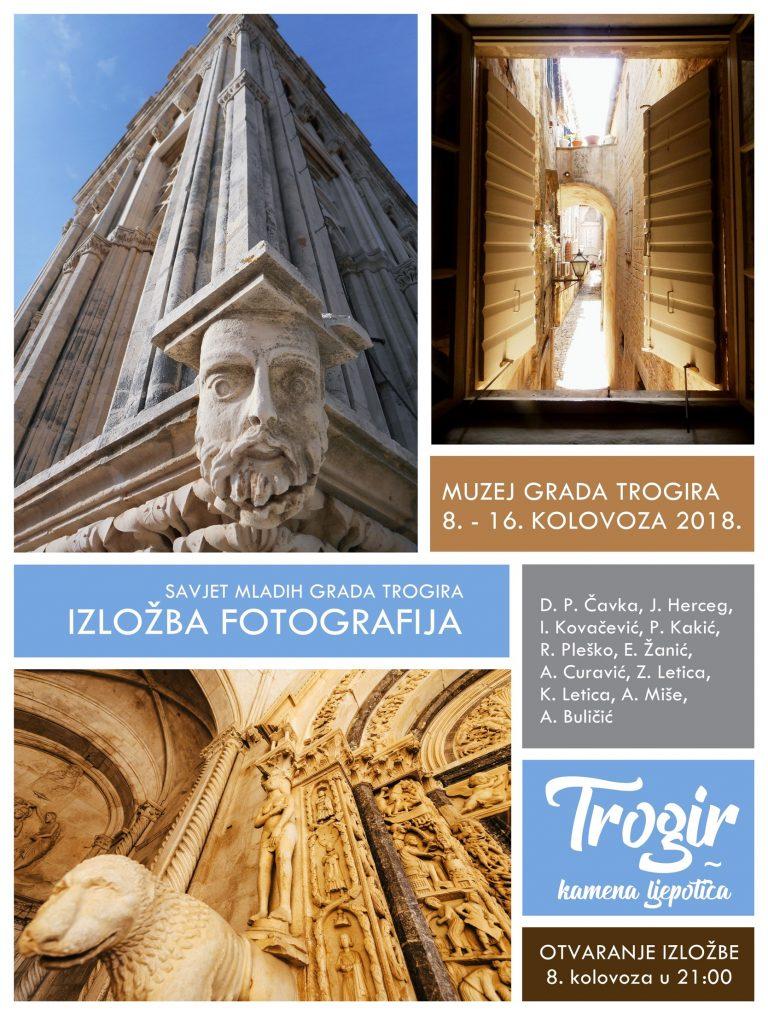 "Izložba fotografija ""Trogir – kamena ljepotica"""