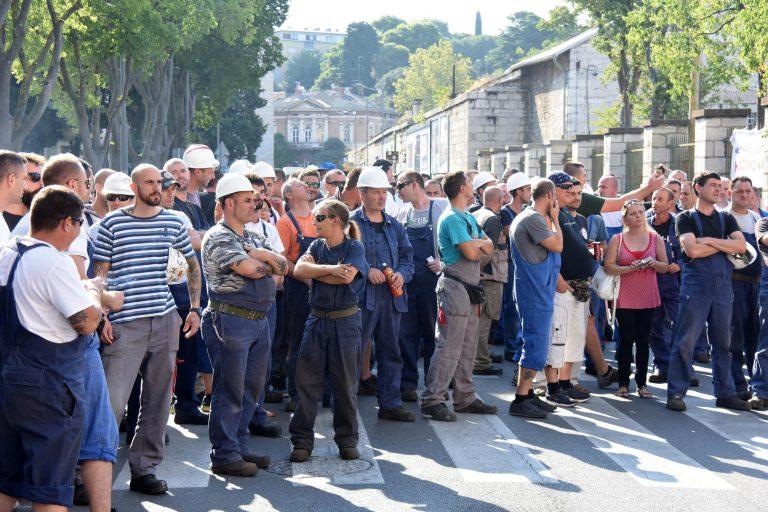 Uljanik: Štrajkaški odbor obustavio štrajk