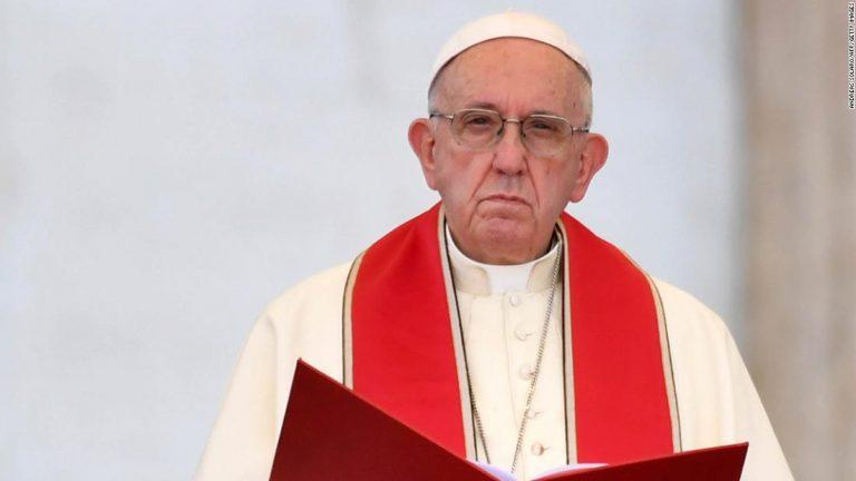 Papa: Nijedno nastojanje da se traži oprost i da se popravi šteta koja je učinjena neće biti dovoljno