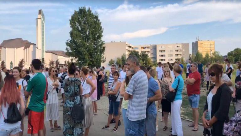 U Zaprešiću se održao tihi prosvjed građana protiv lošeg zdravstvenog sustava