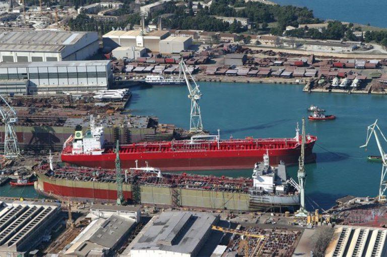 Hrvatska se pozdravlja s brodogradilištima