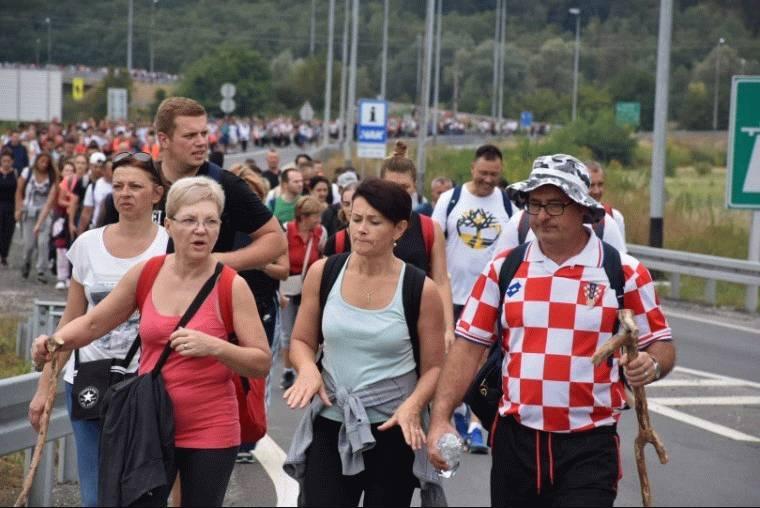 Velikogoričko pješačko zahvalno hodočašće Majci Božjoj Bistričkoj