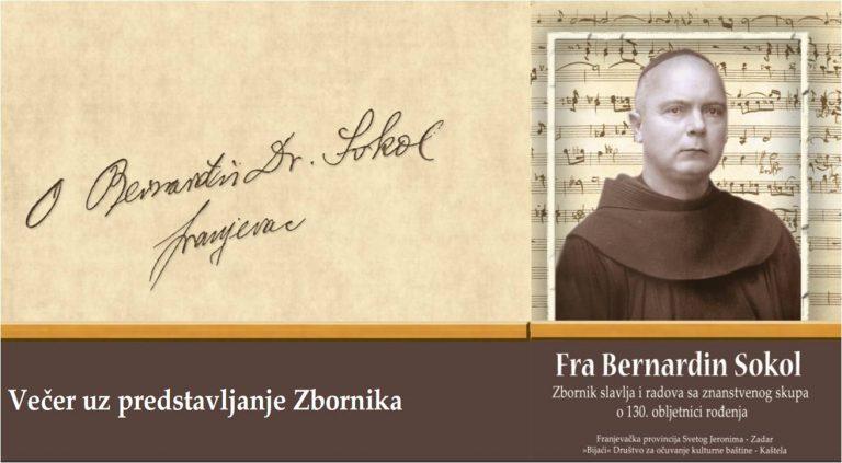 74. godišnjica mučeničke smrti fra Bernardina Sokola i predstavljanje Zbornika / Najava