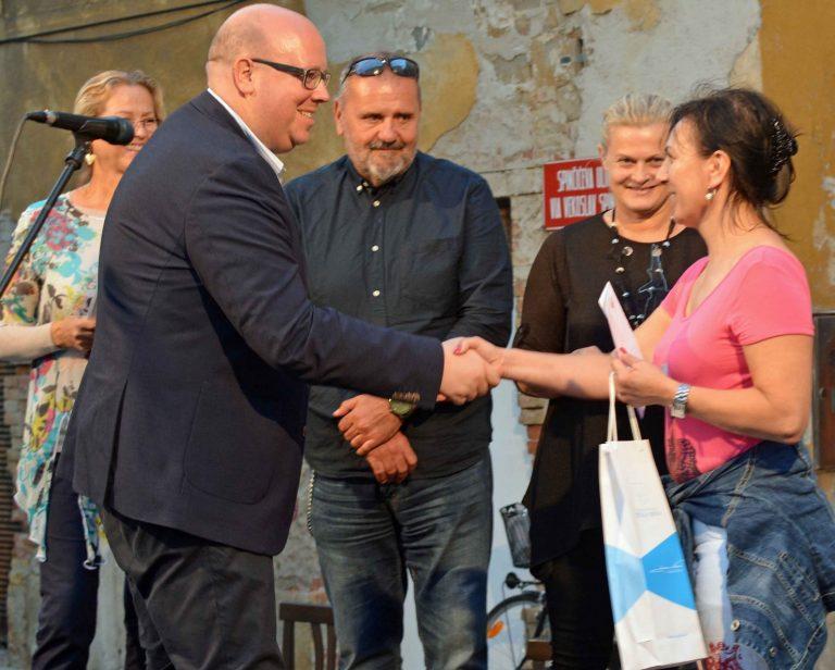 Dodjela nagrada – GALERIJA NA PROSTEM – SLIKARSKI EX-TEMPORE IZOLA 2018 – drugi dan foto
