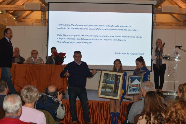 """Održana 14. humanitarna zaprešićka aukcija slika """"Ivo Košir"""" / 170 foto!"""