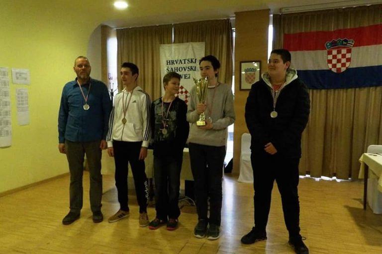 Završeno kadetsko prvenstvo Hrvatske u šahu