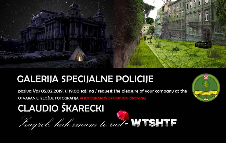 """""""Zagreb kak imam te rad – WTSHTF"""" – ekskluzivna najava izložbe fotografija Claudia Škareckog"""