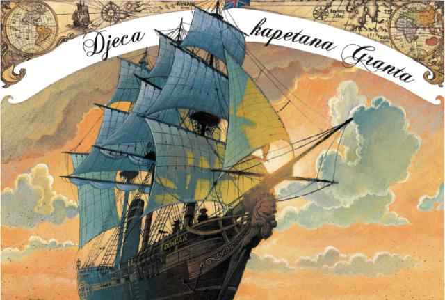 """KREACIJA: STRIP-KONCERT """"Djeca kapetana Granta"""" Alexisa Nesmea"""