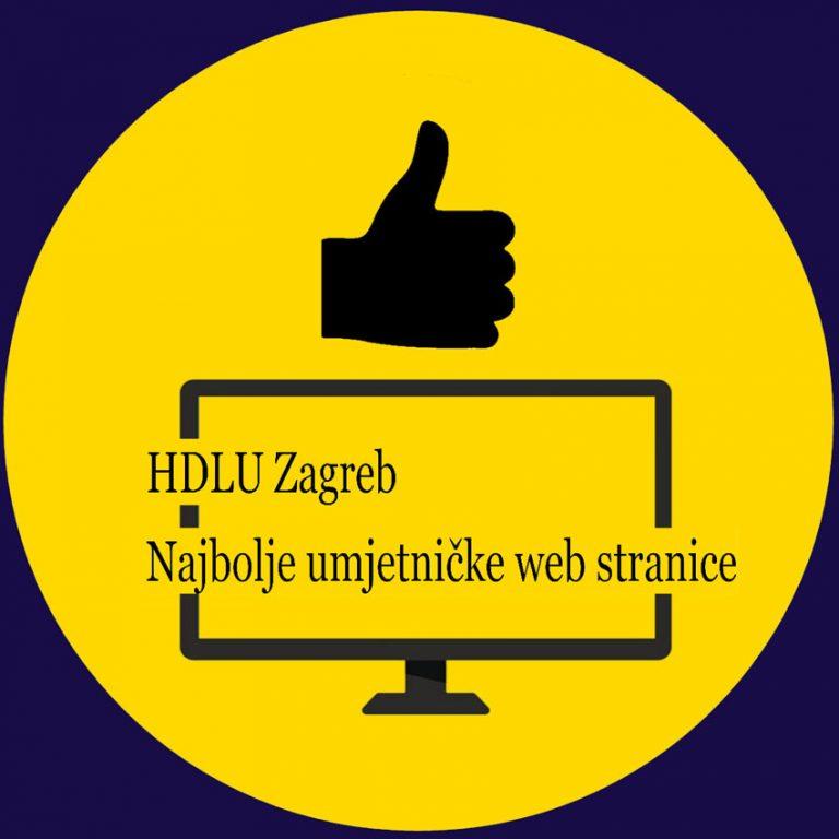 HDLU Zagreb raspisuje natječaj za najbolje umjetničke web stranice i blogove