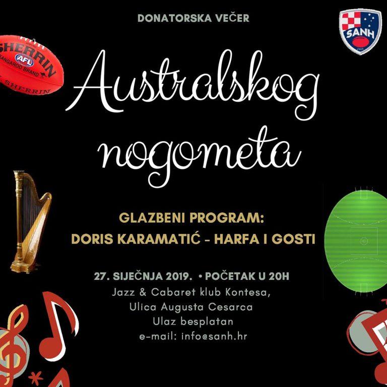 Jedinstven spoj glazbe i sporta – večer australskog nogometa