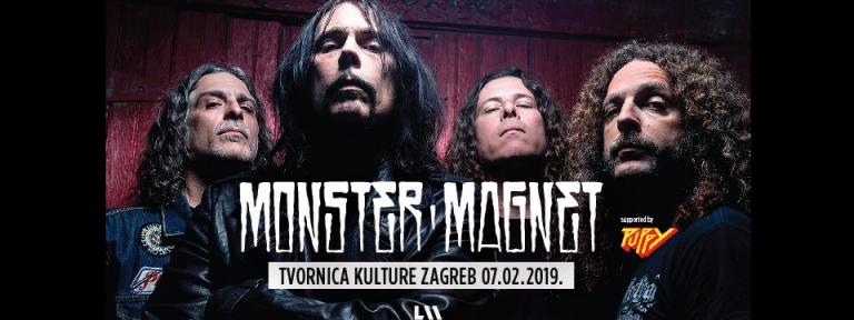 Monster Magnet u Tvornici kulture, 7. veljače