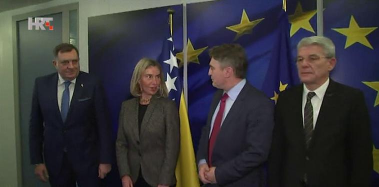 Mogherini rekla predsjedništvu BiH koji su im prioriteti
