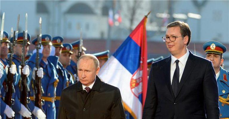 Putin u Srbiji: Podržat ćemo uzajamno prihvatljivo rješenje Beograda i Prištine