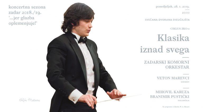 Dva koncerta Zadarskog komornog orkestra – za publiku od 5 do 105 godina