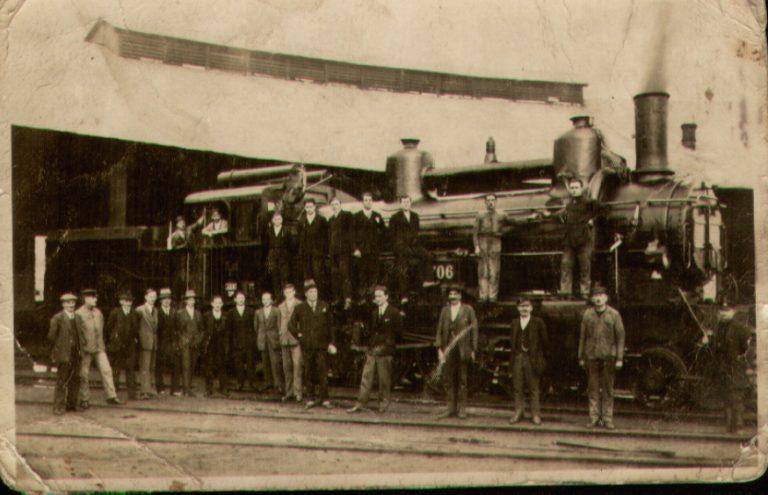 Dolazak prve parne lokomotive u Zagreb
