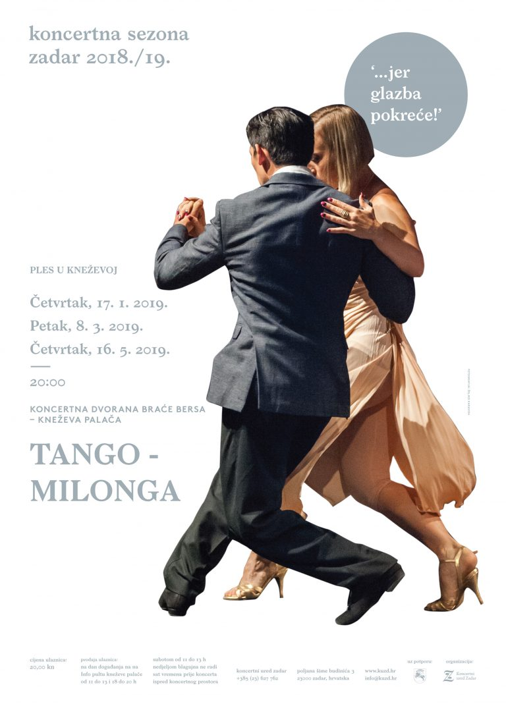 Tango večer u Kneževoj palači