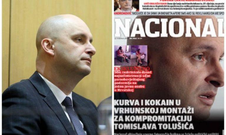 Vlada RH oštro osudila krivotvorinu o ministru Tolušiću